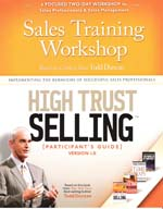 High Trust Selling Workshop
